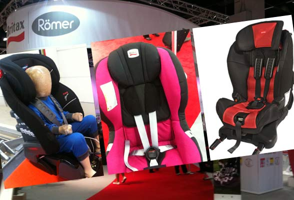 New Swedish rear facing car seats