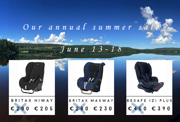 Summer sale at CarSeat.se