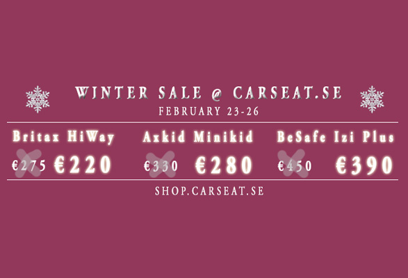Winter Sale at CarSeat.se