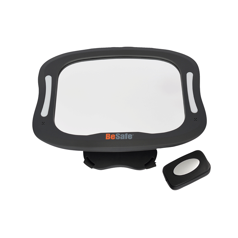 Besafe Xl Led Mirror With Remote Carseat Se